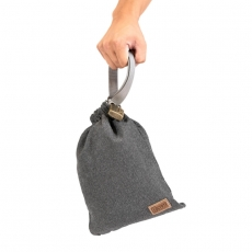AntiTheft Sack 3L Vintage Gray, Side Kick