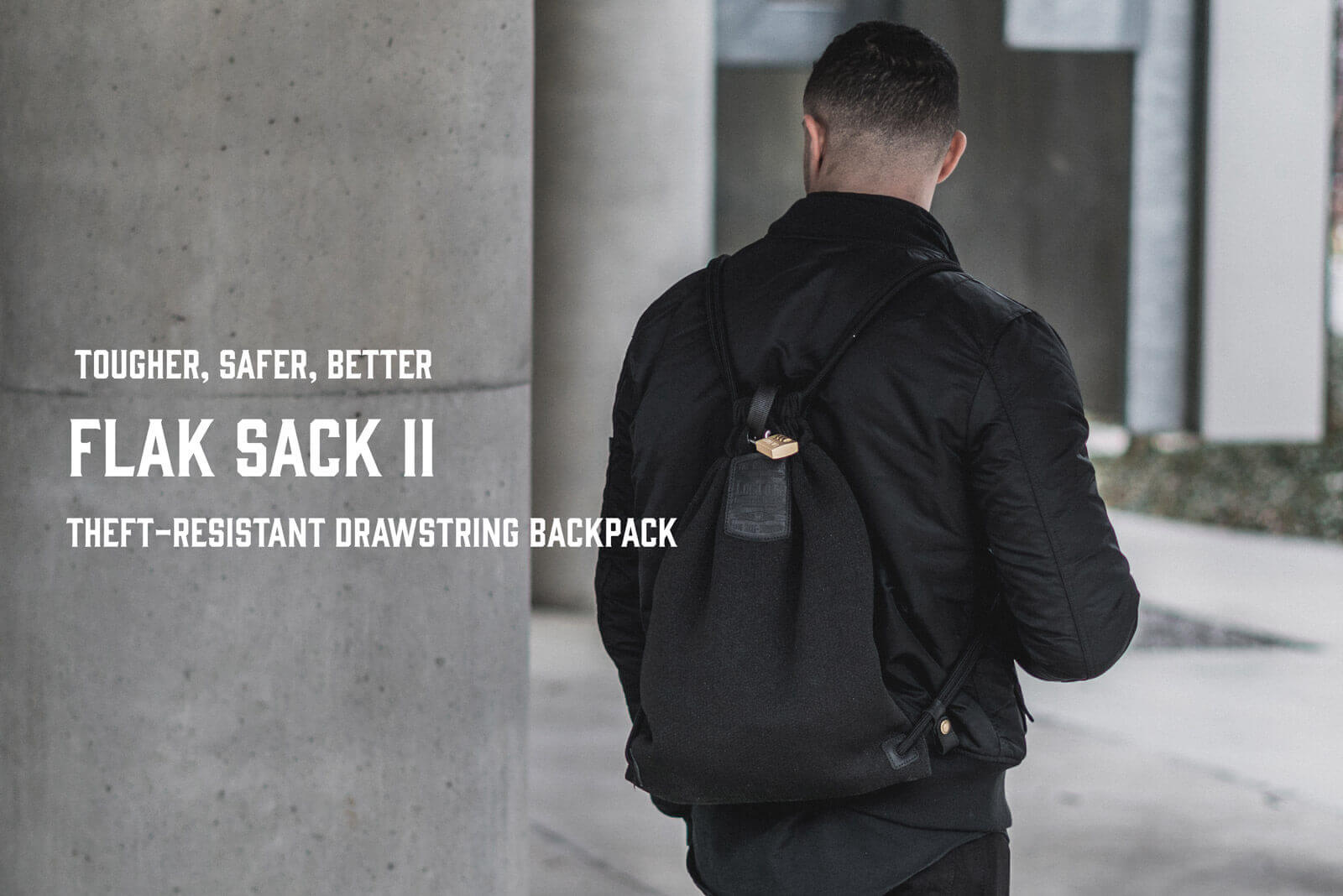 Flak Sack II Stealth Black